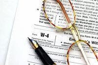 W4 tax form